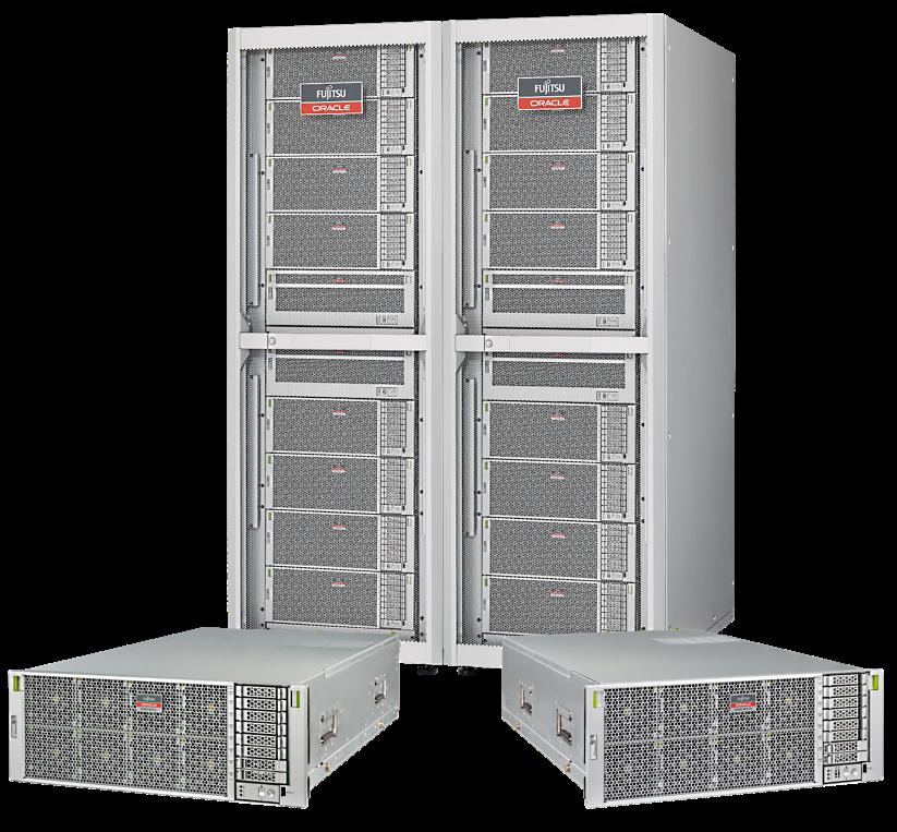 Fujitsu и Oracle выпустили новые серверы Fujitsu SPARC M12